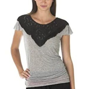 Anna Sui X Target -Gray Fringe Lace Detail